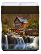Glade Creek Cascades Duvet Cover