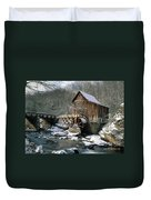 Glade Creek Grist Mill In West Virginia Duvet Cover