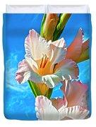 Gladiolus Duvet Cover