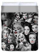 Glamour Girls 1 Duvet Cover
