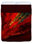 Glance Of Colors Duvet Cover