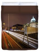 Glasgow Rush Hour Duvet Cover