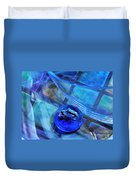 Glass Abstract 238 Duvet Cover