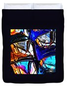 Glass Abstract 4 Duvet Cover
