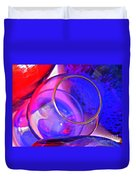 Glass Abstract 594 Duvet Cover