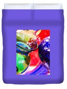 Glass Abstract 618 Duvet Cover