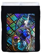 Glass Abstract 690 Duvet Cover