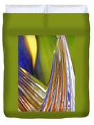 Glass Abstract 743 Duvet Cover
