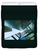 Glass And Metal - Walt Disney Concert Hall In Downtown Los Angeles Duvet Cover