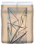 Glass And Sky 1 Duvet Cover
