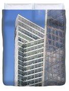 Glass Architecture Duvet Cover