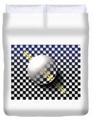 Glass Ball  Duvet Cover