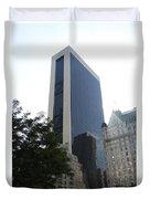 Glass Facade Reflection II Duvet Cover
