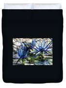 Glass Lilies Duvet Cover