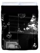 Glass Ornaments Duvet Cover