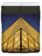 Glass Pyramid Duvet Cover by Brian Jannsen