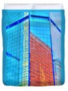 Glass Reflections Duvet Cover