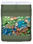 Glass Seashell Duvet Cover