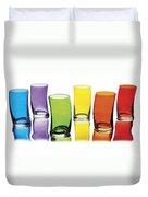 Glasses-rainbow Theme Duvet Cover