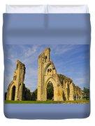 Glastonbury Abbey Duvet Cover
