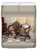 Glastonbury Chairs Duvet Cover
