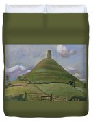 Glastonbury Tor Duvet Cover
