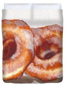 Glazed Donuts Duvet Cover
