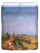 Gleaning Duvet Cover