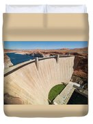 Glen Canyon Dam Duvet Cover