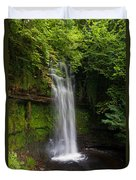 Glencar Waterfall Is Situated Duvet Cover