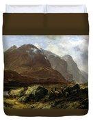 Glencoe, 1864 Duvet Cover