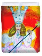 Glenda The Good Witch Of Oz Duvet Cover