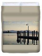 Glendale Docks No. 2 Duvet Cover by David Gordon
