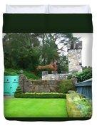 Glenveagh Garden Gate Duvet Cover