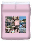 Glimpses Of Italy Duvet Cover