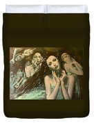 Glissando Duvet Cover by Dorina  Costras