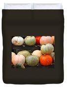 Glistening Gourds Duvet Cover