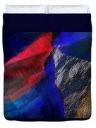 Glitchscape - Liquefaction Duvet Cover
