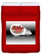 Global Strawberries Duvet Cover