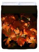 Globe-mallow Blooms  Duvet Cover