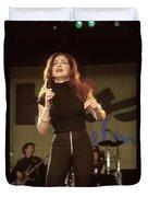 Gloria Estefan And The Miami Sound Machine Duvet Cover