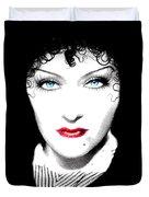 Gloria Swanson - Edith Piaf Duvet Cover