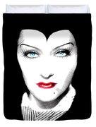 Gloria Swanson Malefica Duvet Cover