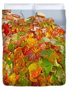 Glorious Autumn Leaves Duvet Cover