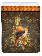 Glorious Birds-a2 Duvet Cover