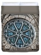 Glorious Church Stained Glass Duvet Cover