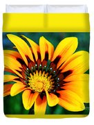Glorious Day Yellow Flower By Diana Sainz Duvet Cover
