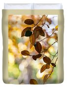 Glorious Foliage. Tree In Pamplemousse Garden 1. Mauritus Duvet Cover
