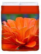 Glorious Orange  Duvet Cover
