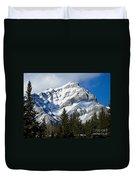 Glorious Rockies Duvet Cover
